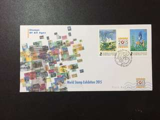 Singapore FDC World Stamp Exhibition 2015