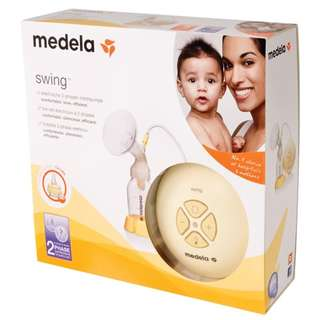 Medela Swing Electric Single Breastpump WITH Calma Teat