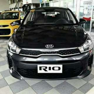 18K Lowest All in Lowest DP for Kia Rio 1.4L SL MT