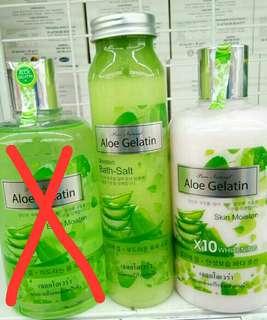 Aloe Gelatin bath salt