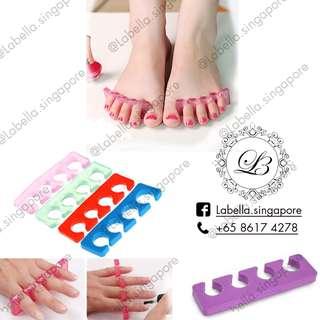 Soft Finger Toe Separator Tool Nail Art Pedicure Manicure
