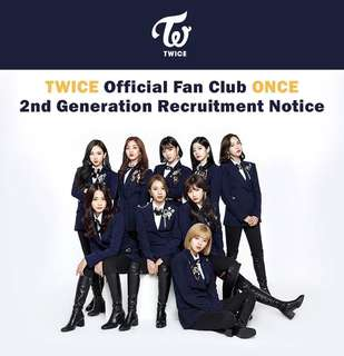 [Purchasing service] Twice Official Fanclub