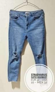 Stradivarius Super highwaist jeans