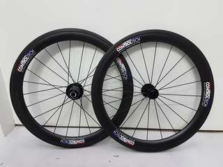 "ControlTech Carbon 20"" 406 Wheel Set For Folding Bikes"