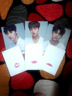 Wanna One Lipcard + Profile Card