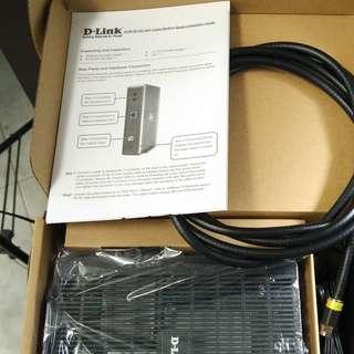 d-link(dlink) modem DCM 3012G new