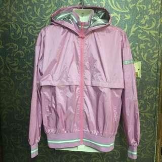 Pink Bomber Jacket champion
