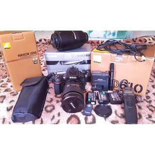 Nikon D610 package with free ttl flash+32g sd card