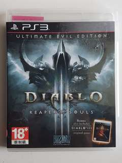 Ps3 Diablo Reaper of Souls Game