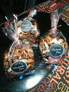 Pretzels are ready to deliver for wedding door gifts..For enquiry pm.Tq