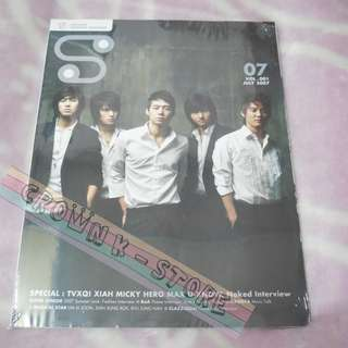 [LAST 1][CRAZY DEAL 80% OFF FROM ORIGINAL PRICE][READY STOCK]TVXQ DBSK KOREA S MAGAZINE(UNSEALED) NO POSTER OFFICIAL ORIGINAL FROM KOREA (PRICE NOT INCLUDE POSTAGE)PLEASE READ DETAILS FOR MORE INFO