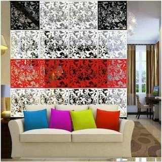 Dekorasi penyekat ruangan