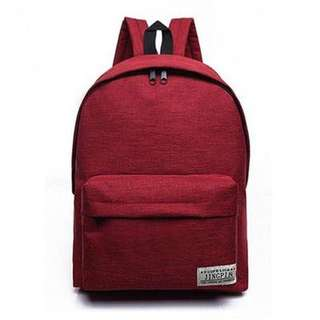 For Pre Order: Jingpin Simple Canvass Backpack