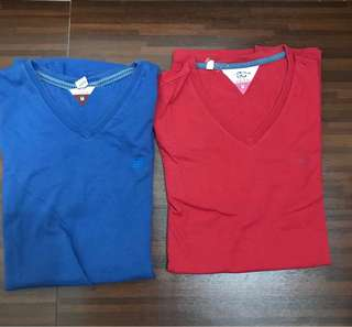 Bangkok V-neck 100% Cotton (Size M)