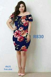 PLUS SIZE Dress (SPANDEX)