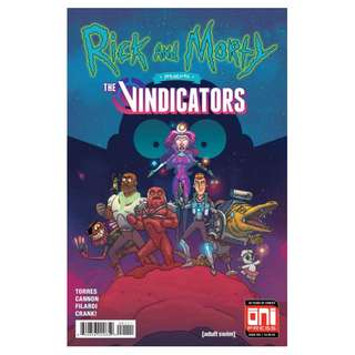 Rick and Morty presents The Vindicators #1 ( 1st Appearance of Pickle Rick)
