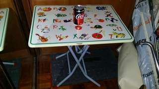 24 inch long 摺枱,folding table, 18 inch deep, 22 inch high, trade in Tuen.Mun   屯門站交收