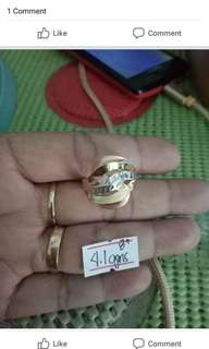 Ring new pawnable 18k