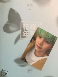 Bts album(unsealed) with Suga photo card
