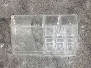 Clear Acrylic Makeup/ Lipstick Organizer (medium)