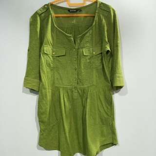 Green Blouse XS