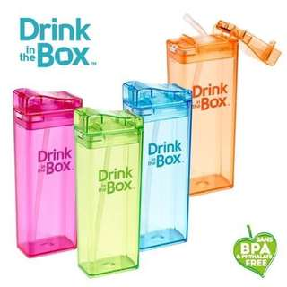 🚚 🔹加拿大 Drink in the Box 兒童吸管防漏隨身水杯 (355ml)