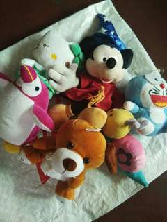 🐣REPRICED! Stuffed toys.Assrtd take all before 200php