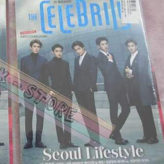 [LAST 1][CRAZY DEAL 80% OFF FROM ORIGINAL PRICE][READY STOCK]EXO KOREA THE CELEBRITY MAGAZINE(UNSEALED) NO POSTER OFFICIAL ORIGINAL FROM KOREA (PRICE NOT INCLUDE POSTAGE)PLEASE READ DETAILS FOR MORE INFO