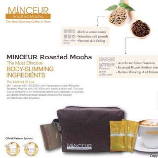 MINCEUR Roasted Mocha, The Best Slimming Coffee