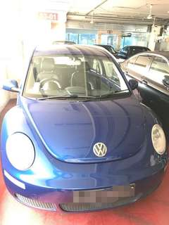 Cheap Volkswagen Beetle for rent $60