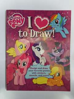 My Little Pony - I Love to Draw (Used)