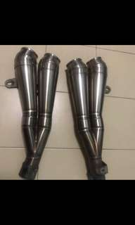 Laser Exhaust Pipe