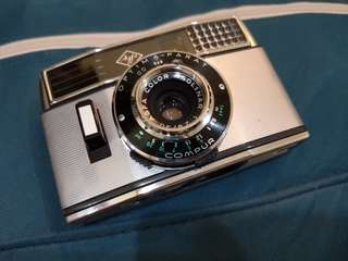 Half-frame 35 film camera Agfa Optima Parat