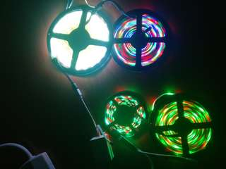 Led decoration light strips with music/bluetooth control