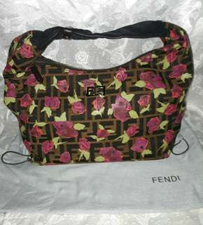 BNWOT AUTHENTIC GRADE FENDI HOBO WITH DUSTBAG
