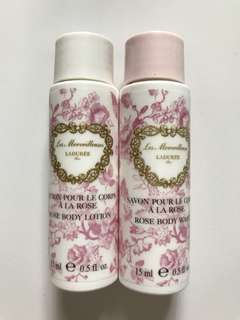 BN Laduree Body Wash & Lotion