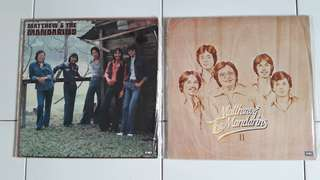 Rare Matthew & The Mandarins Vinyl Records