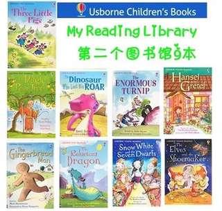 Usborne 9 Story Books