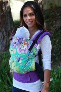 Tula Baby Carrier (Plum posy)