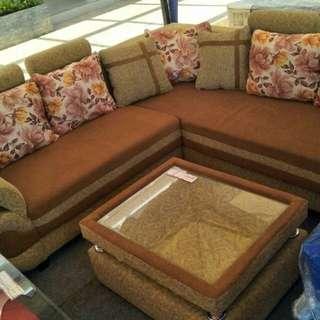 Sofa L sudut