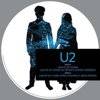 RSD 2018 - U2 Lights of Home Picture Vinyl LP, RSD 2017- Red hill mining Town