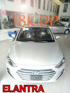 Elantra Gl 1.6 MT 18K ONLY!