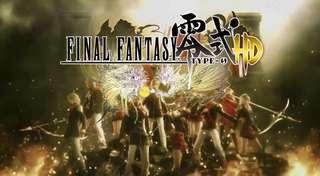 Pc Final Fantasy Type-0 HD 繁體中文版