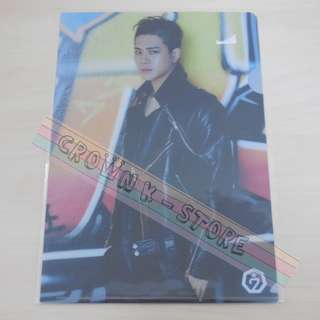 [CRAZY DEAL 90% OFF FROM ORIGINAL PRICE][READY STOCK]GOT7 JACKSON KOREA OFFICIAL A4 SIZE CLEAR FILE 1PC!!OFFICIAL ORIGINAL FROM KOREA (PRICE NOT INCLUDE POSTAGE)PLEASE READ DETAILS FOR MORE INFO