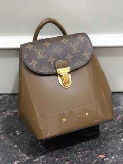 SALE! LV Backpack 19x22cm mirror replica bag