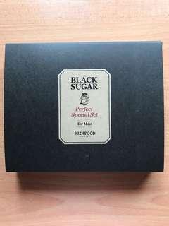 SKINFOOD Black Sugar Perfect Facial Set for Men