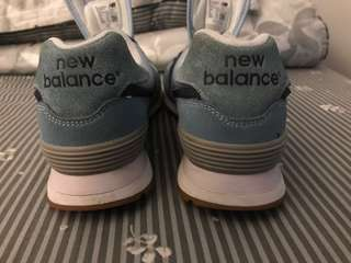 New balance 574 series blue serenity and navy#mausupreme