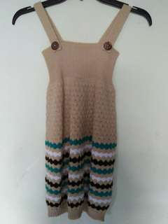 Knitting Dress for Girls