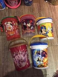 🚚 日本帶回迪士尼人物爆米花桶