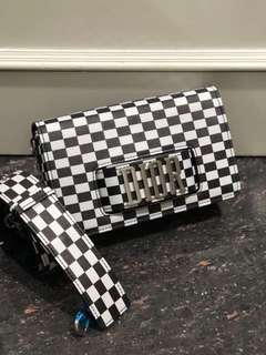 SALE! Dior chess bag 25cm mirror replica bag